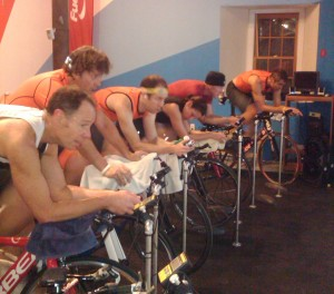 Fun in the pain cave!